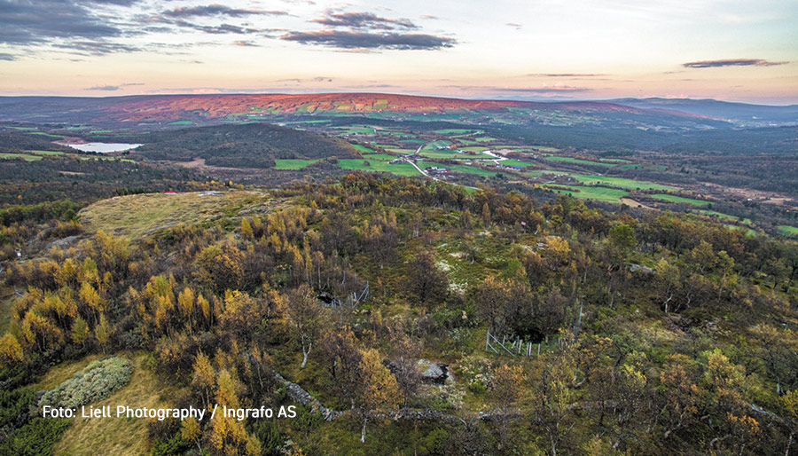 Gruvåsen i Dalsbygda, Os kommune. Foto: Liell Photography / Ingrafo AS