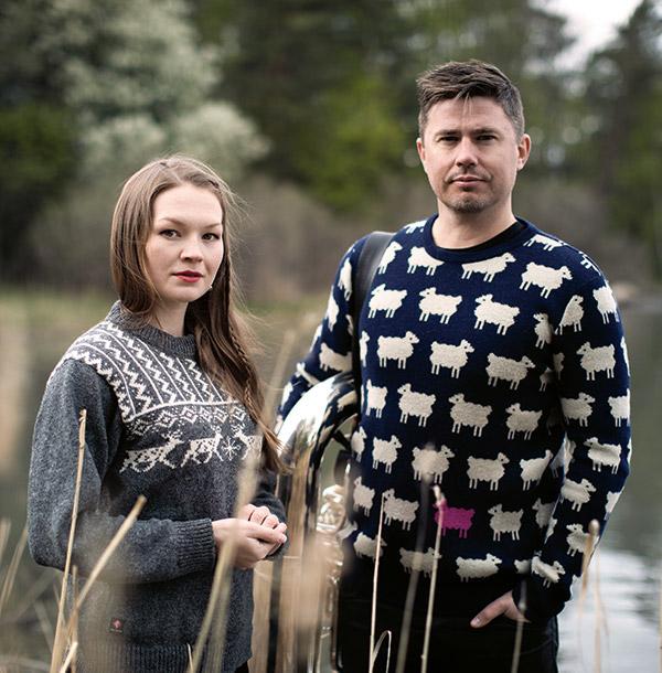 Marja Fjellheim Mortensson og Daniel Herskedal. Foto: Knut Åserud (4C9A3256)